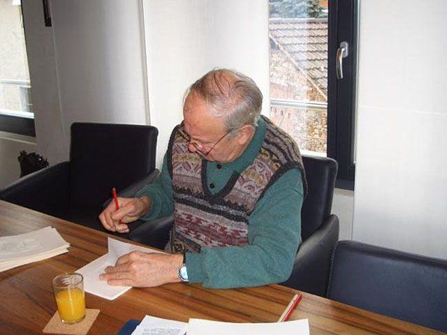 Luciano Gatti a Cadempino