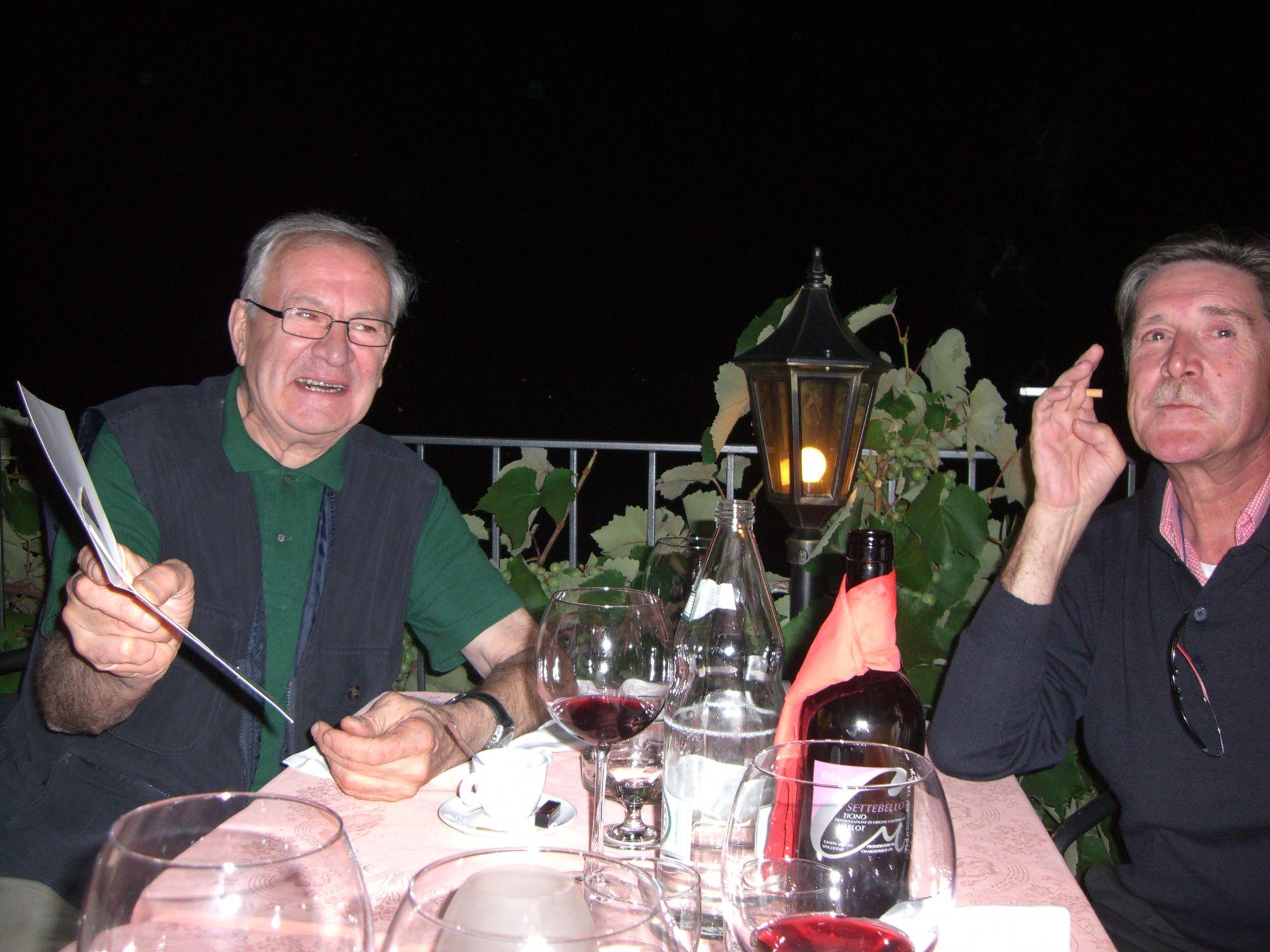 12.07.2007 - Osteria del Portico a Vernate