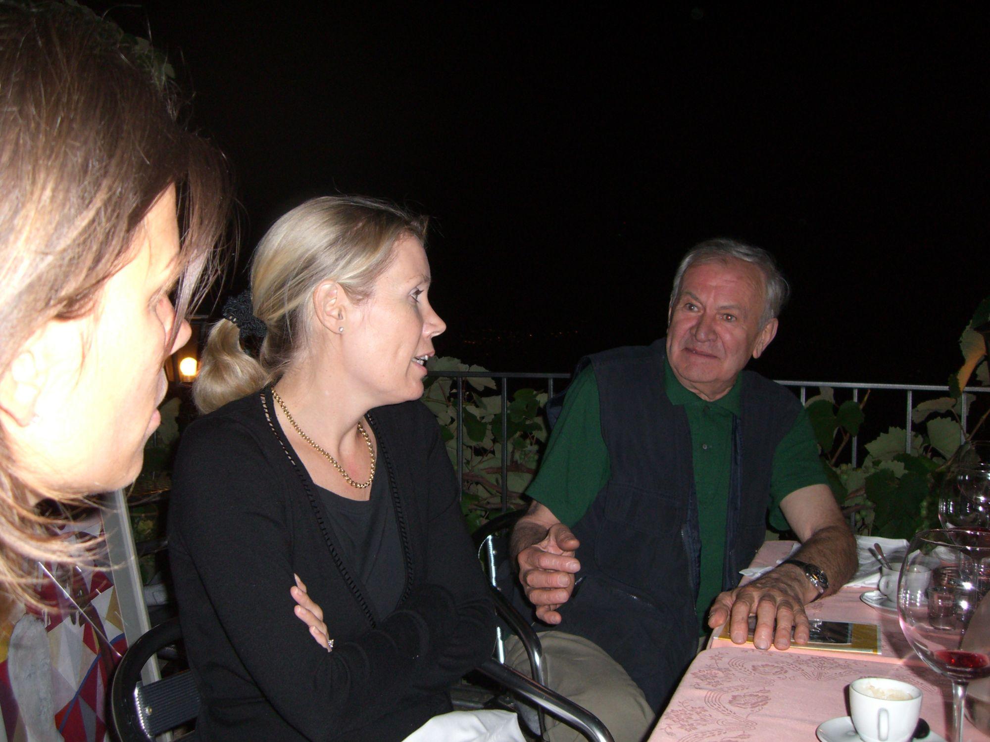 12.07.2007 - Osteria del Portico a Vernate con Marjan Carazzetti