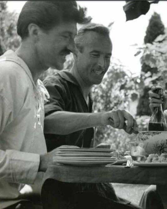con Vinicio Salati, 1943