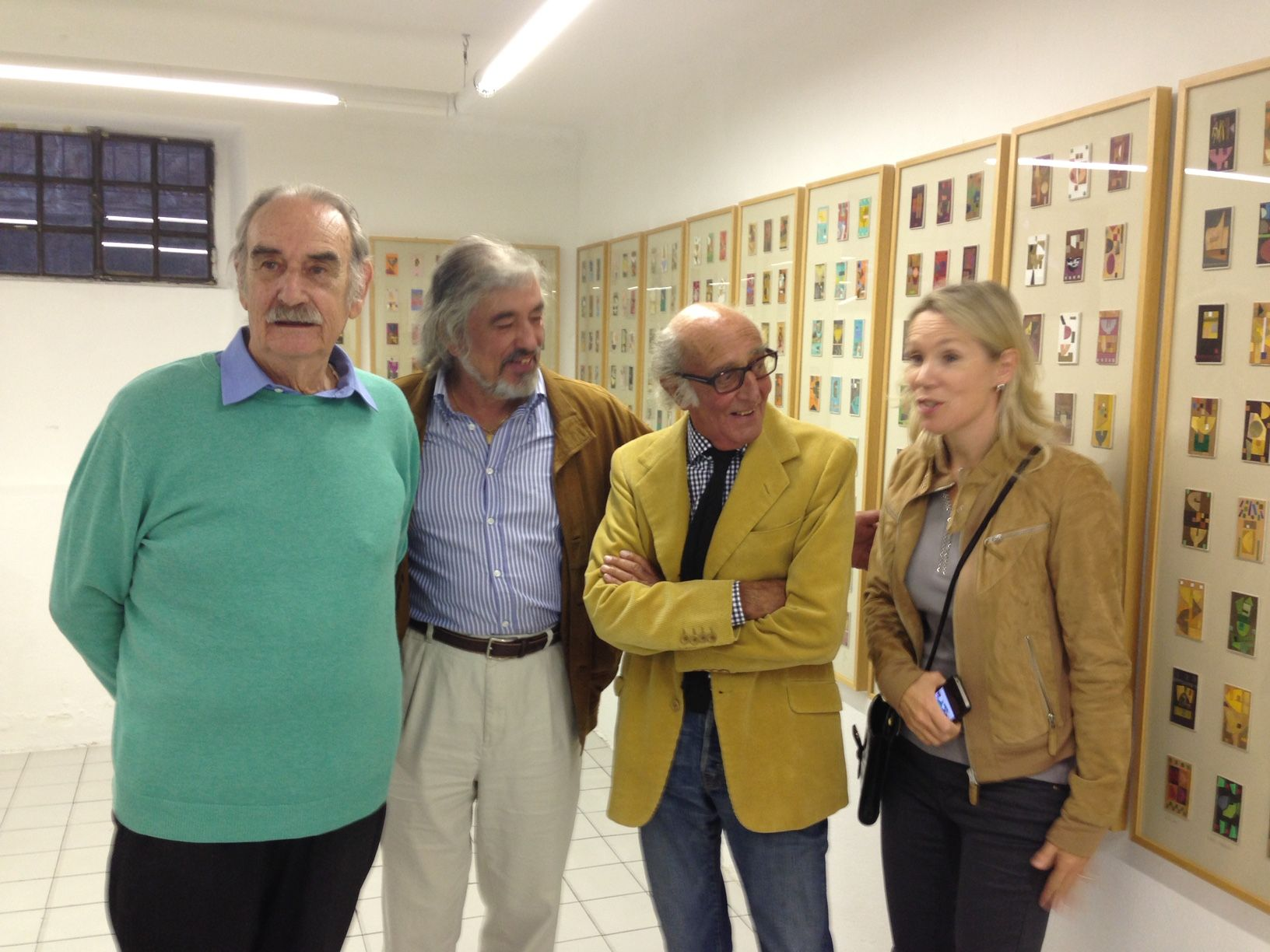 Lugano, Mostra di Paolo Blendinger, 14.09.2013