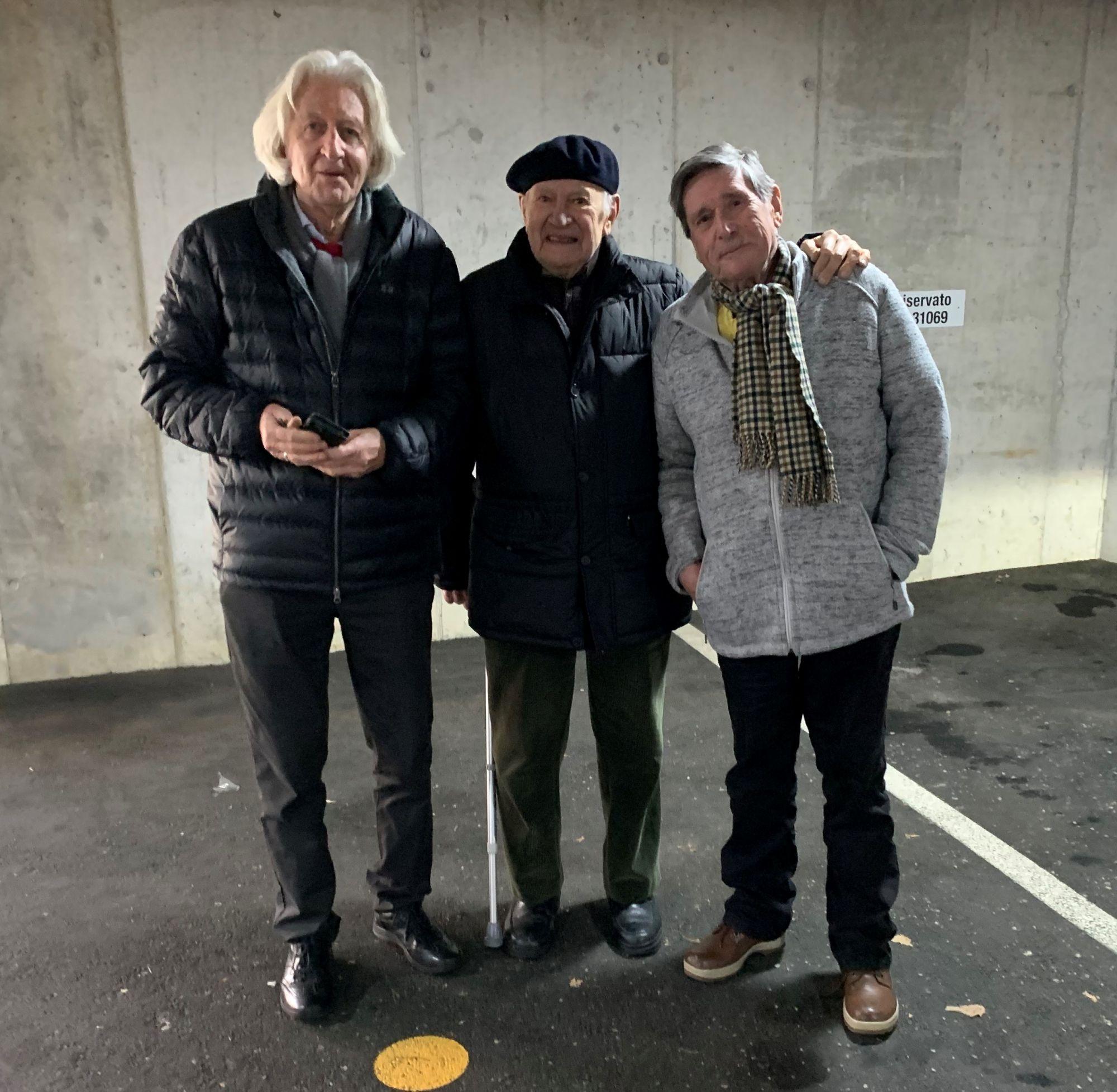 05.03.2020 a Vezia con Jean Marc Bühler e Giuliano Togni