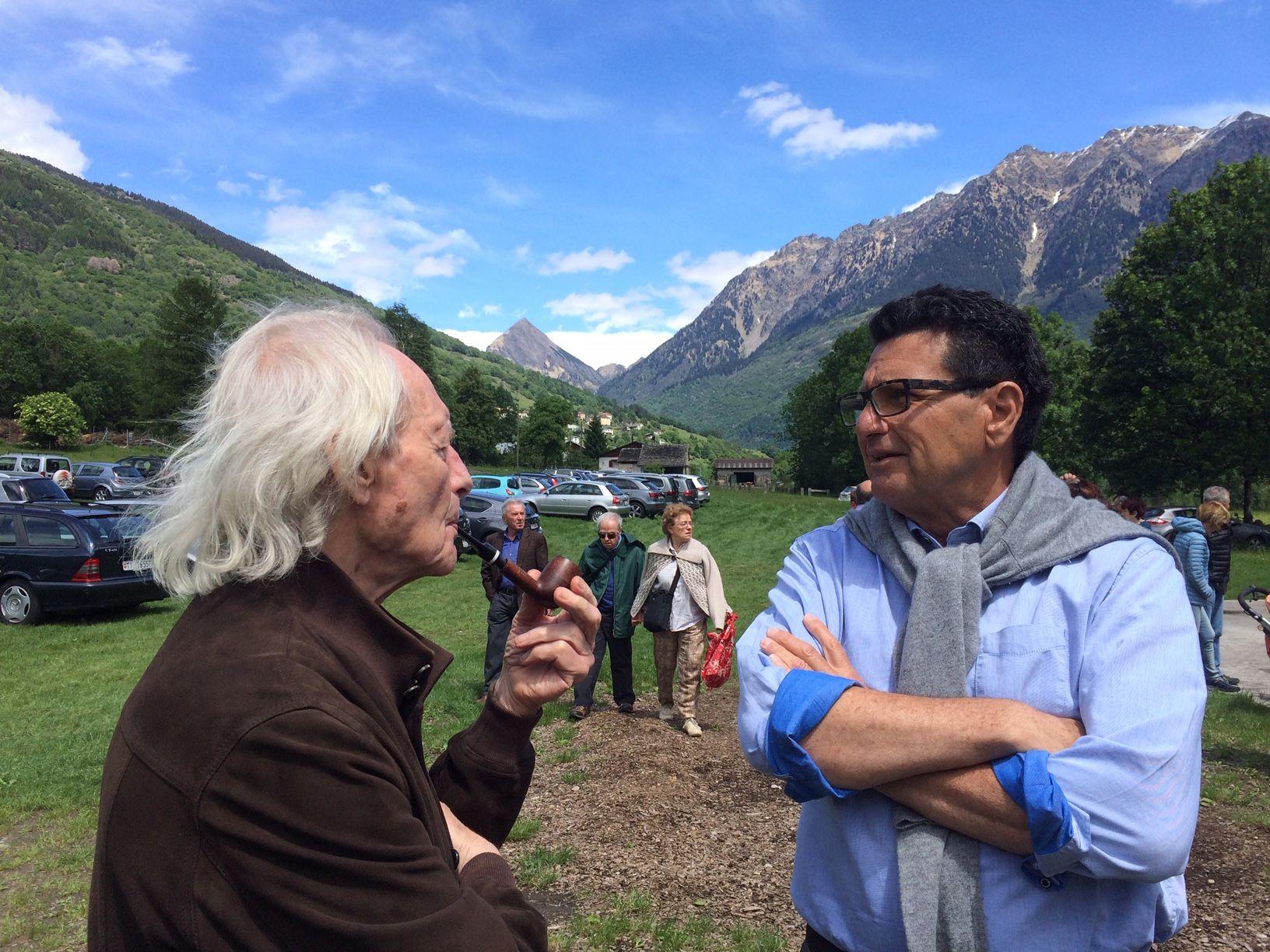 Castro, Valle di Blenio, alla Fondazione Atelier Giovanni Genucchi, 22 settembre 2018