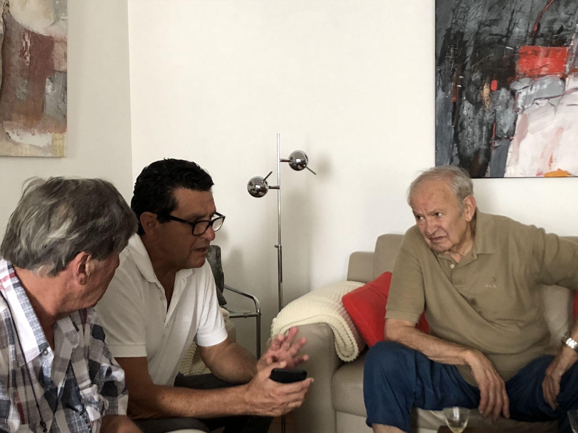 11.09.2018 - a Cadempino insieme a Jean Marc Bühler e Luciano Carazzetti