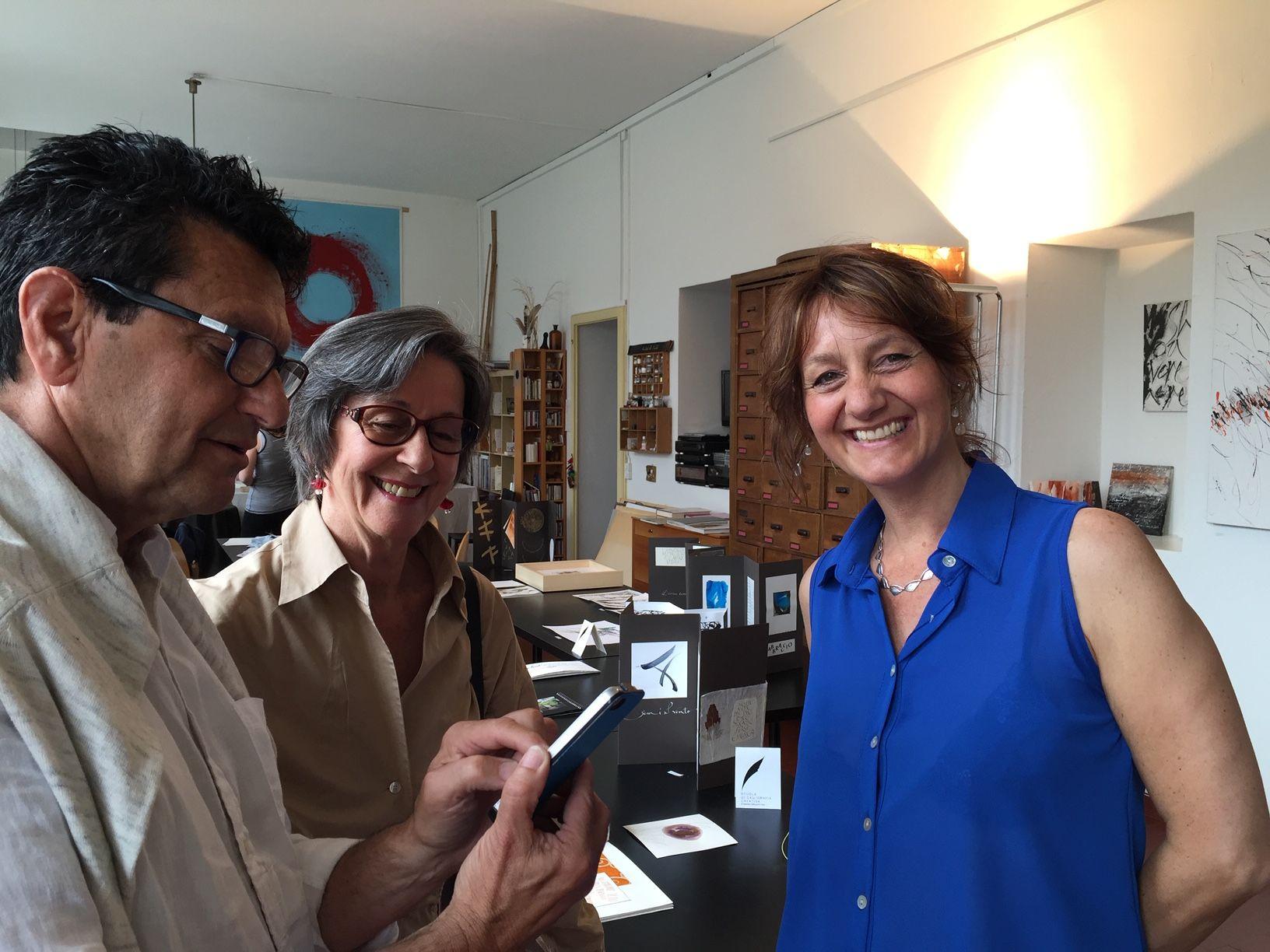 Nello Studio con Adriana Parola e Luciano Carazzetti