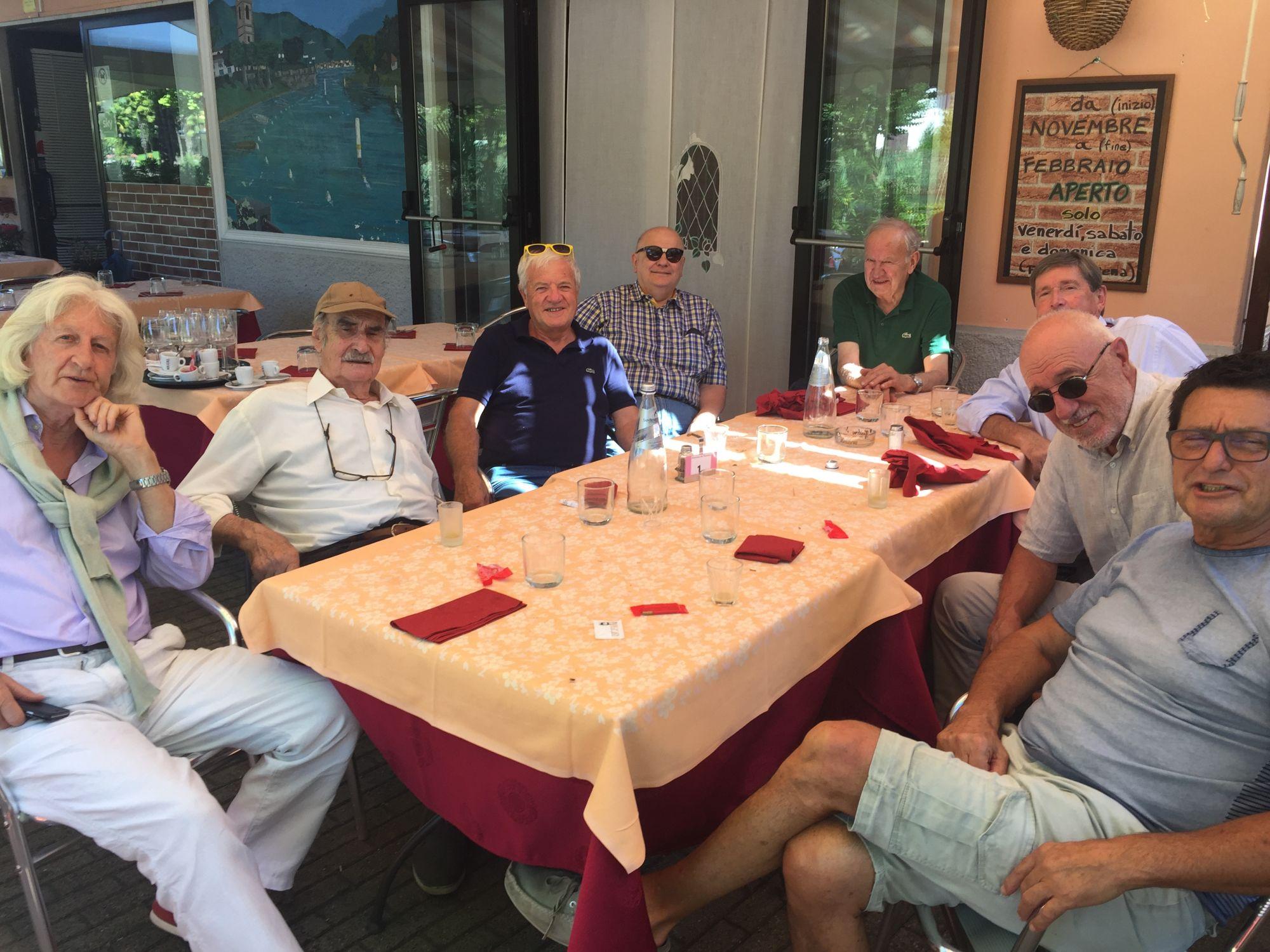 24.08.2016 - Lavena Ponte Tresa, pranzo del gruppo amici artisti.