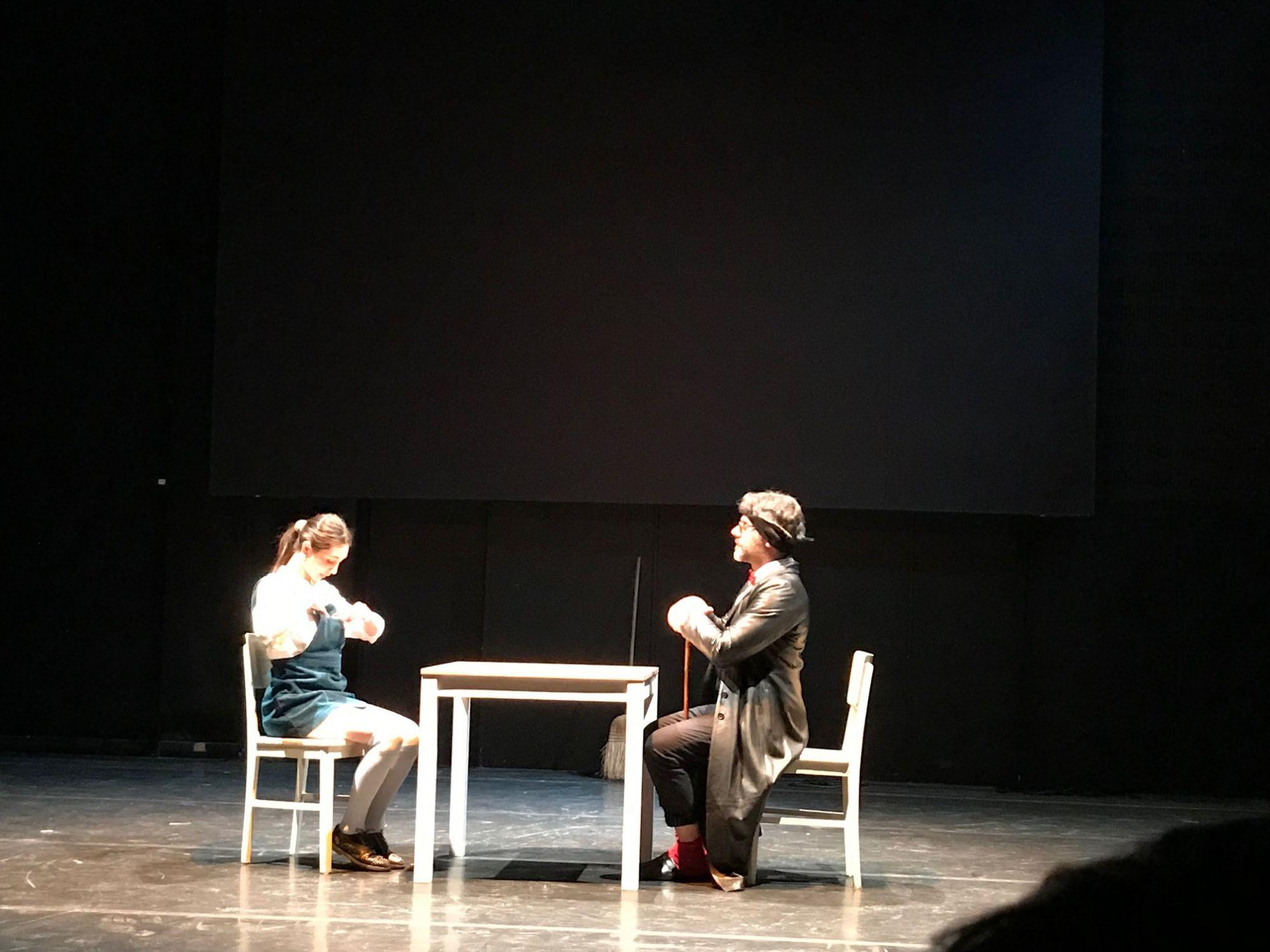 La lezione - Teatro la Foce, 30 marzo 2019