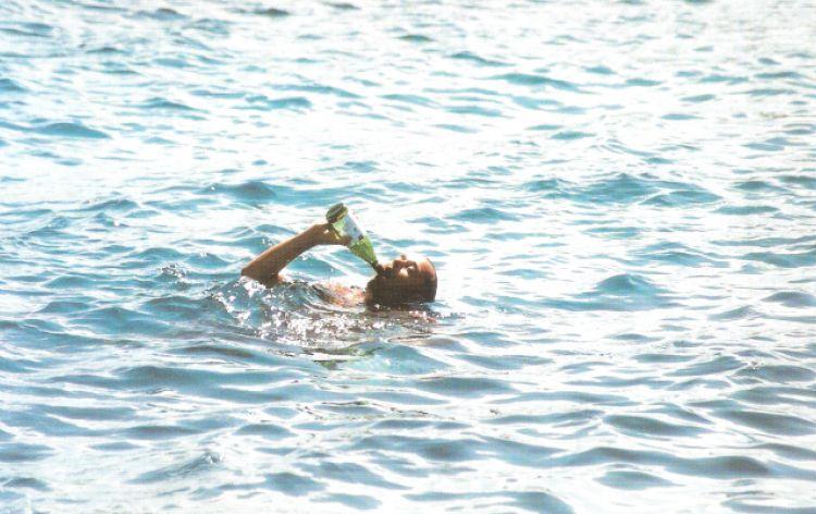Morivo dalla sete... (Mare delle Isole Cicladi, Grecia, 1998)