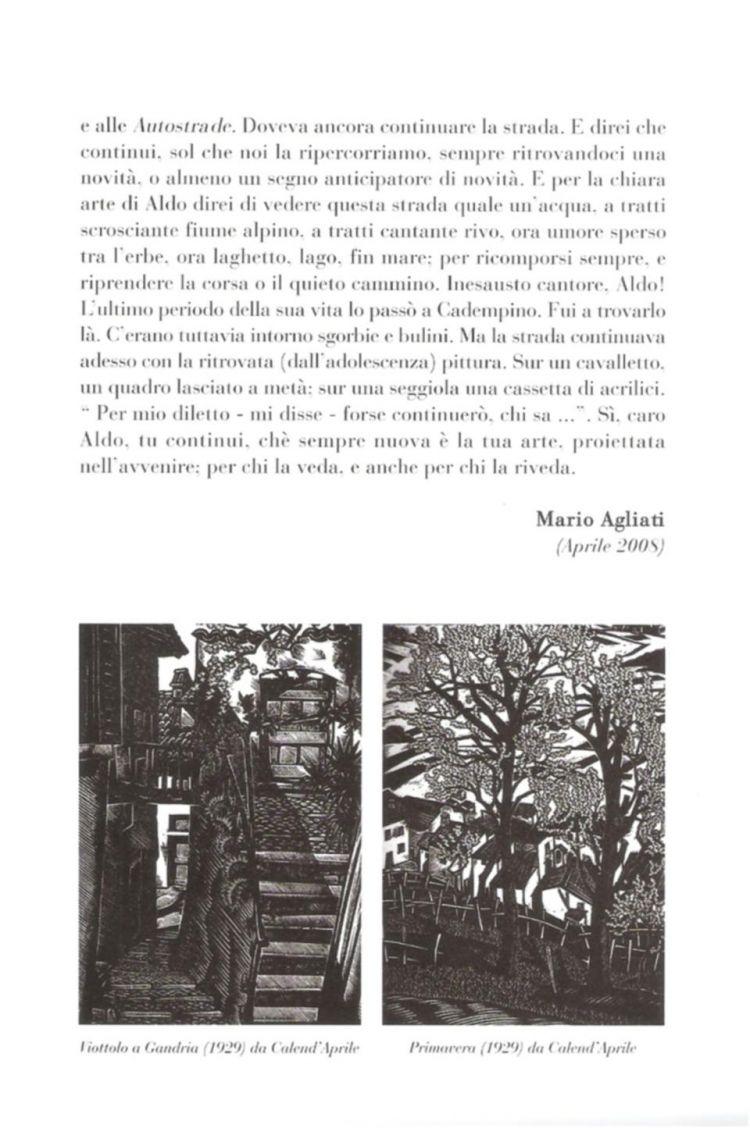 """Invito della mostra """"Calend'aprile"""""""