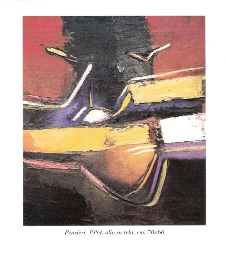 """Invito della mostra """"L'espressione dei colori"""""""