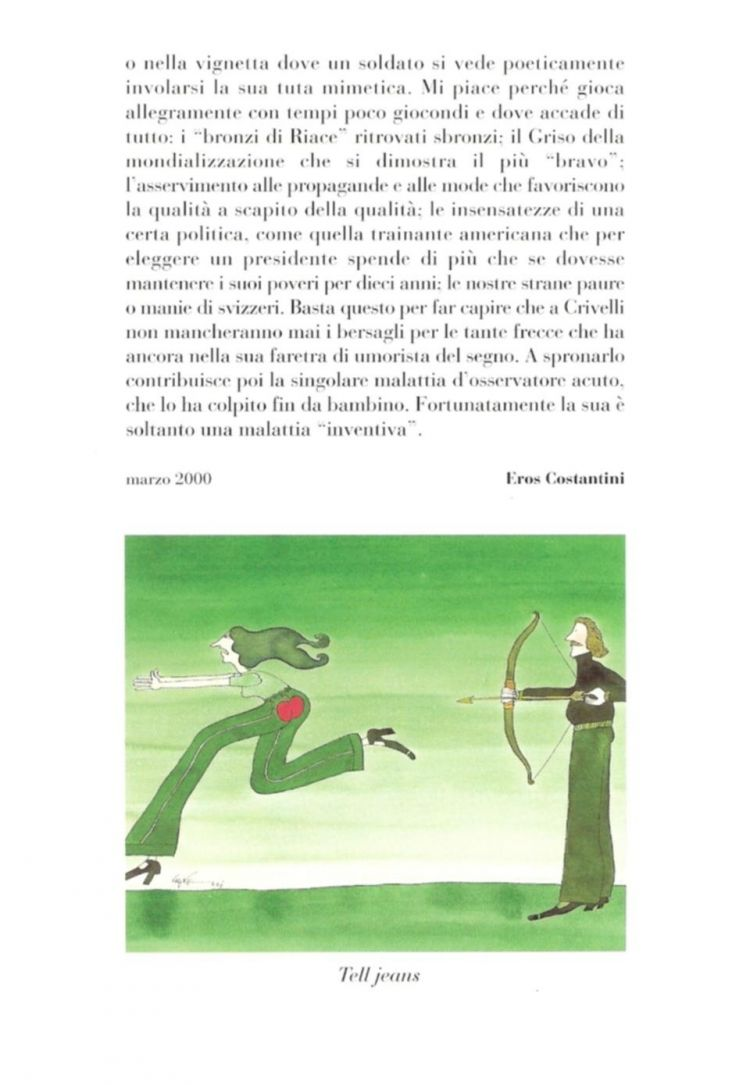 """Invito della mostra """"Vignette umoristiche in acquarello"""""""