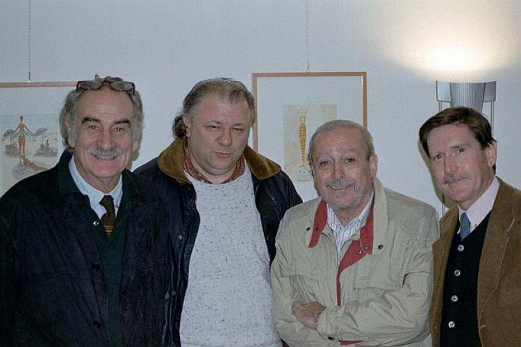 """Foto pubblico della mostra """"Vignette umoristiche in acquarello"""""""
