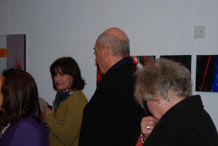 """Foto pubblico della mostra """"Declinazioni del gesto"""""""