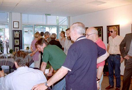 """Foto pubblico della mostra """"L'espressione dei colori"""""""
