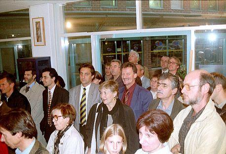 """Foto pubblico della mostra """"...un pessimista allegro"""""""