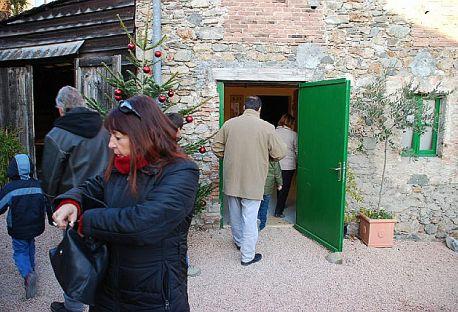 """Foto pubblico della mostra """"Diario minimo"""""""