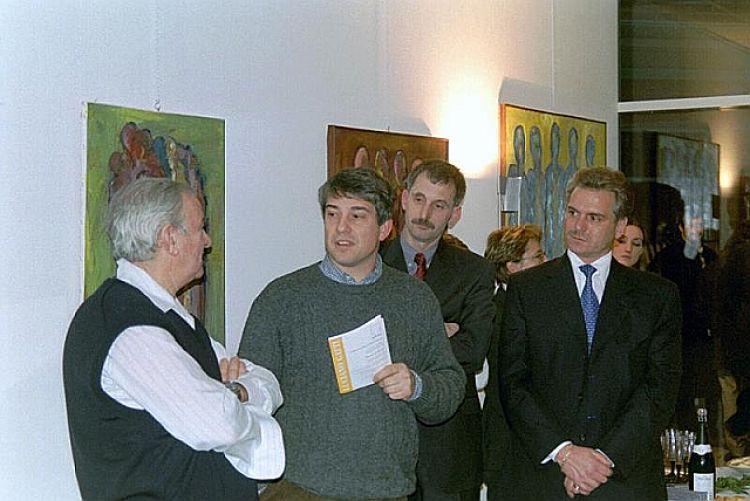 """Foto pubblico della mostra """"Persone nel silenzio"""""""