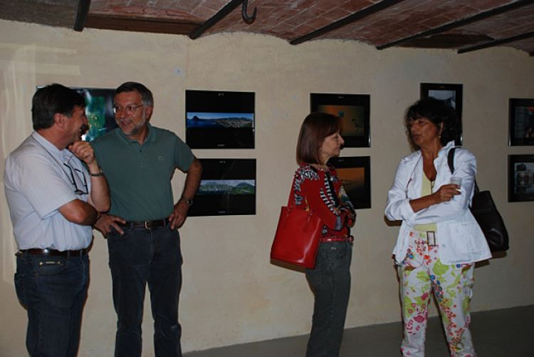 """Foto pubblico della mostra """"Fotografie"""""""