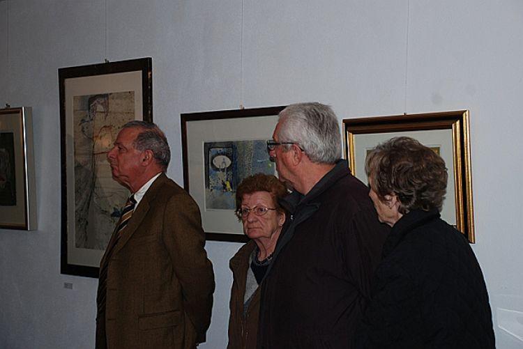 """Foto pubblico della mostra """"Il viaggio di Dedalo"""""""