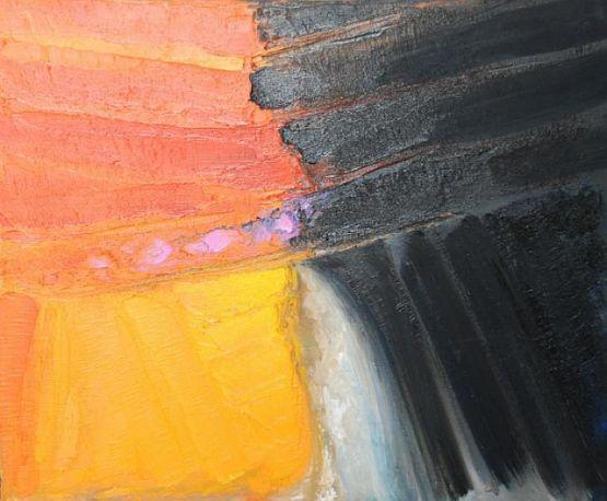 Sipario, 2007, olio su tela, 50 x 60 cm