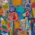 Music and color, 1995, olio su tela, 60 x 70 cm