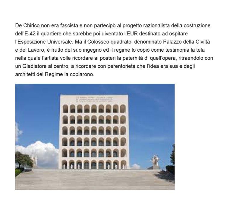 DE CHIRICO Giorgio