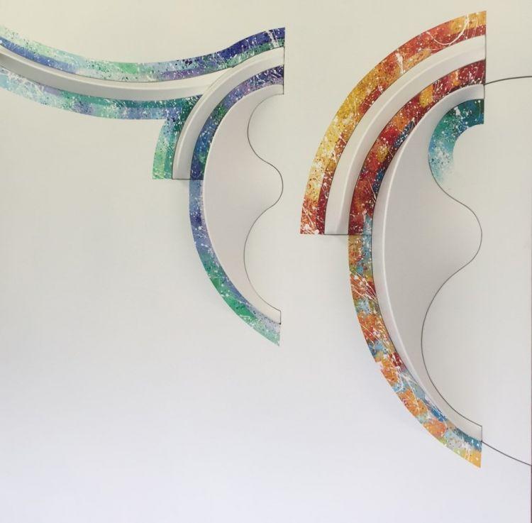 TOGNI Giuliano Idoli (dettaglio),2015-6, cm 100 x 100