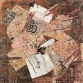 Lungi - mirante, 2009, collage, 82 x 80 cm