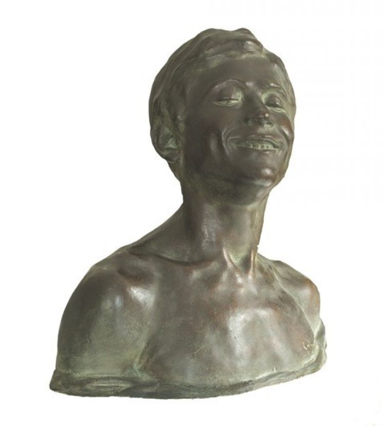 BRUNATI Emilio Oreste Il monello, gesso patinato, 1910, esposto all'Esposizione nationale svizzera al Kunsthaus di Zurigo