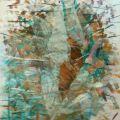 Nucleo, 2014, collage, 74 x 56 cm