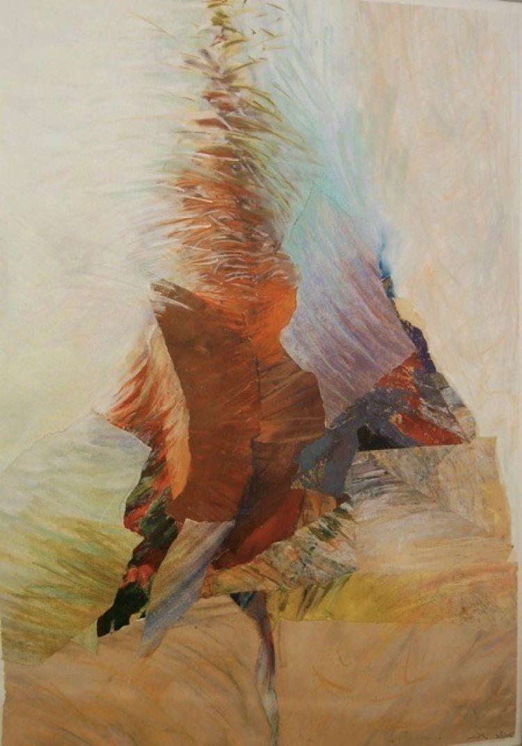 BRUNATI Alida Albero, 2002, tecnica mista, 95 x 67 cm