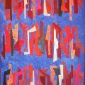 """""""Composizione"""", 1990, collage, 42 x 31 cm"""